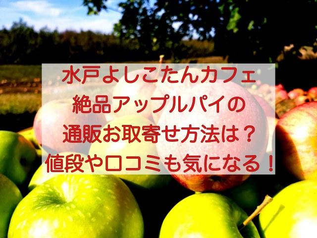水戸よしこたんカフェのアップルパイ通販お取寄せ情報と口コミ